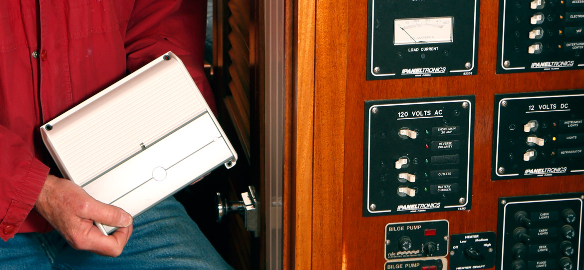 Installing an amp on a boat: running power and ground wires