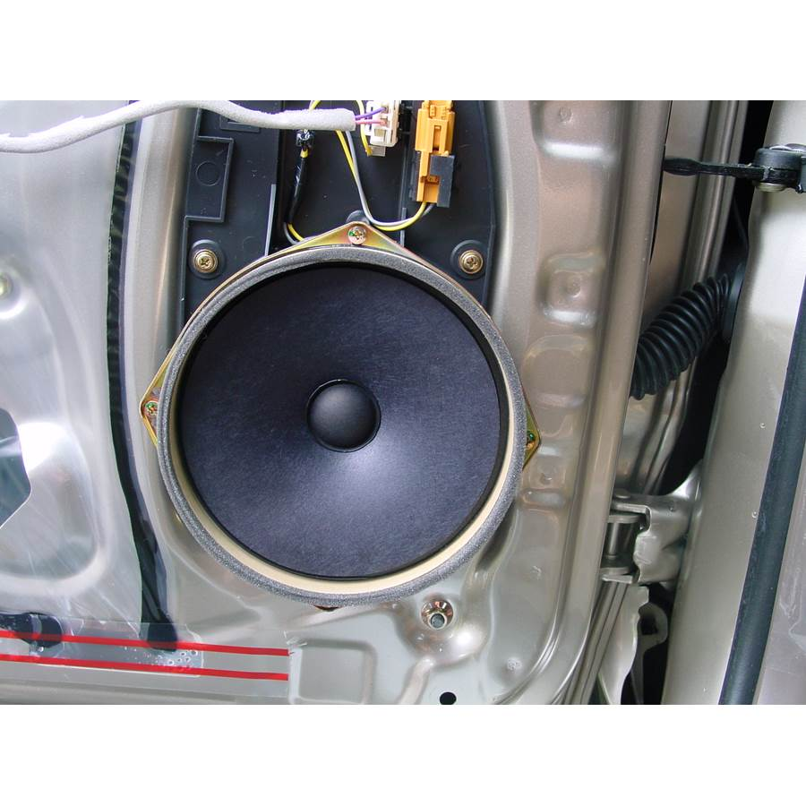 2001 Toyota 4Runner Front door woofer