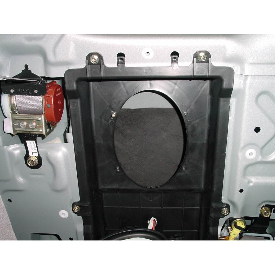 2001 Toyota Tacoma Rear cab speaker removed