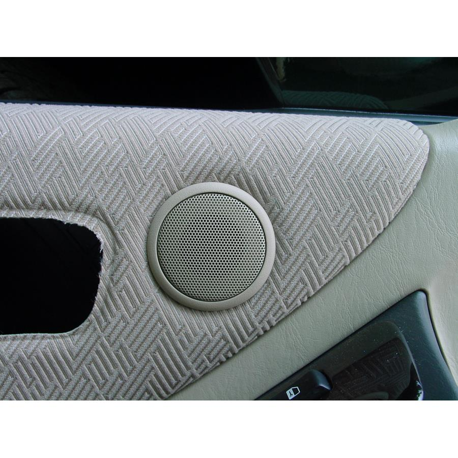 2007 Toyota Highlander Front door tweeter location