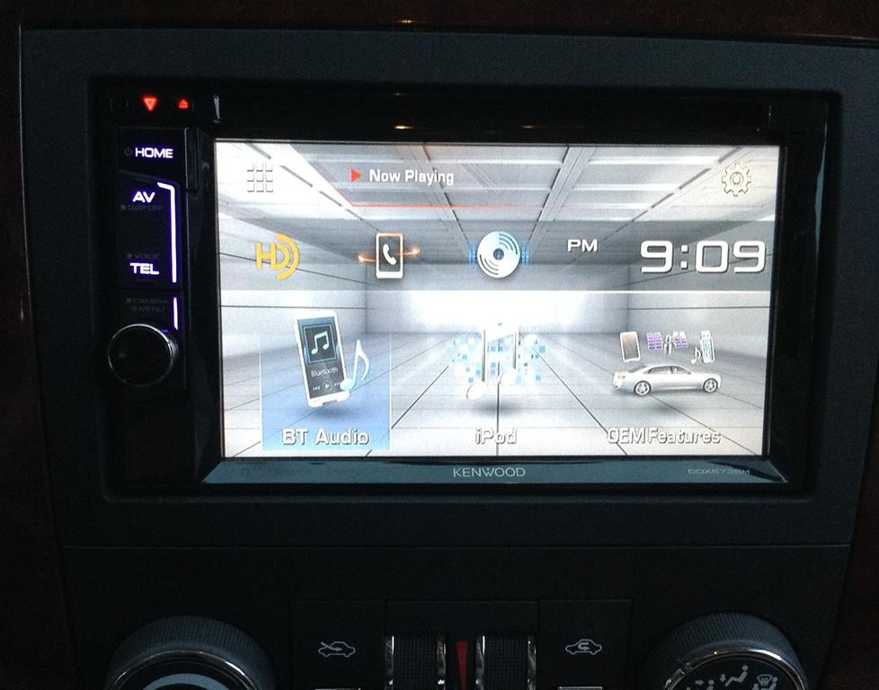 Brendan B's 2007 Chevrolet Impala with Kenwood DDX573BH DVD receiver