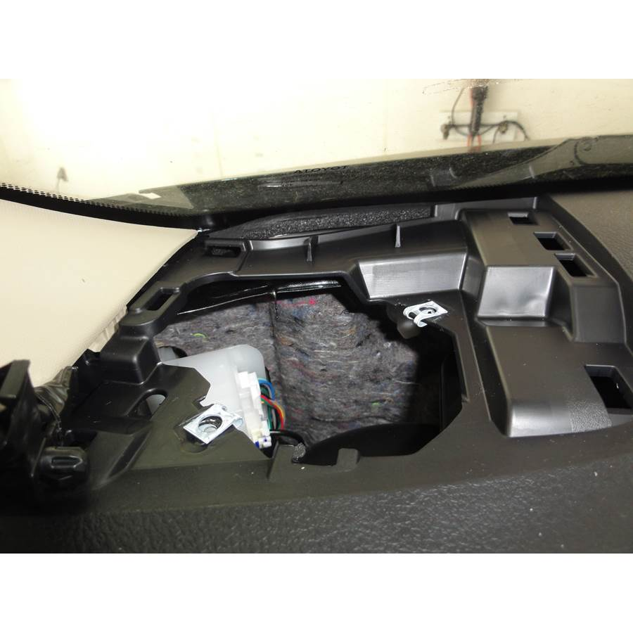 2014 Toyota Camry Dash speaker removed