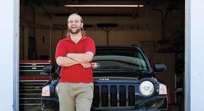 Otis's 2010 Jeep Compass
