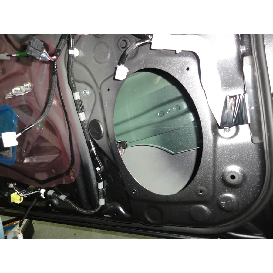 2017 Toyota Prius V Front speaker removed