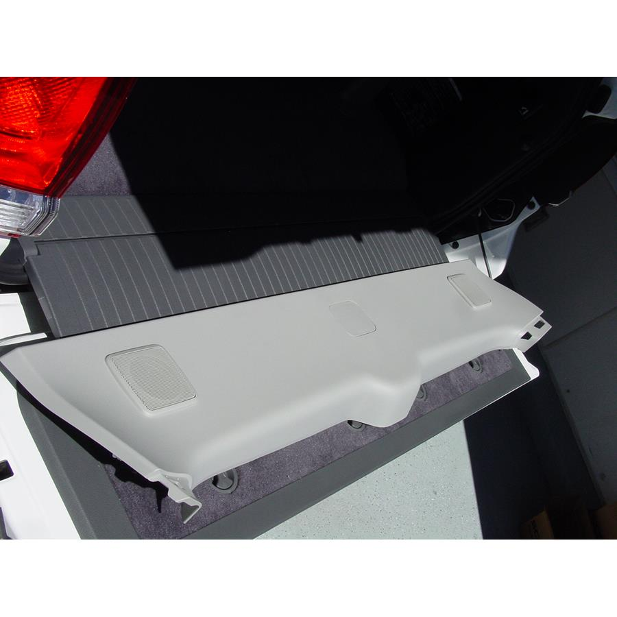 2011 Toyota Land Cruiser Tailgate speaker location
