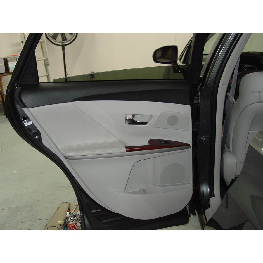 2013 Toyota Venza Rear door speaker location