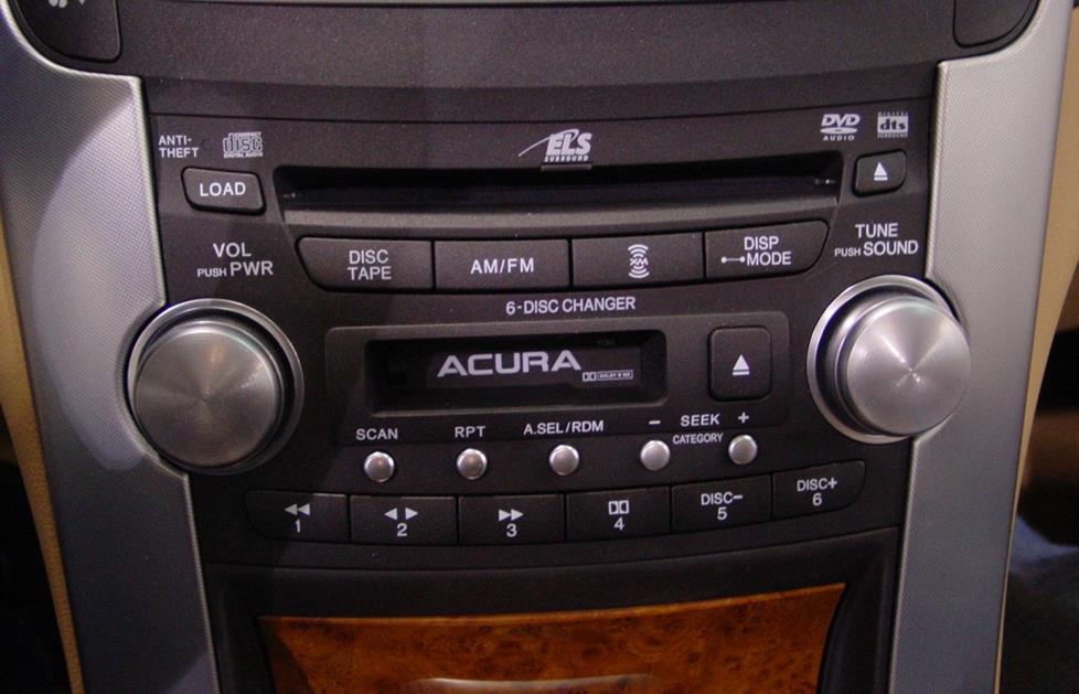 Acura TL radio