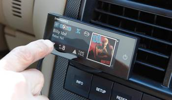 Two ways to add SiriusXM satellite radio to your car