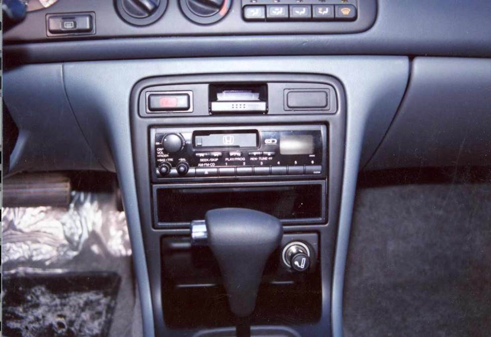 honda accord factory radio