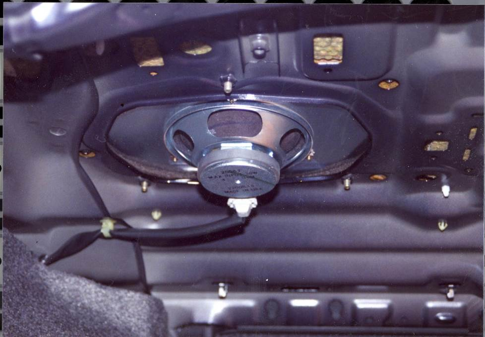 honda accord rear deck speaker