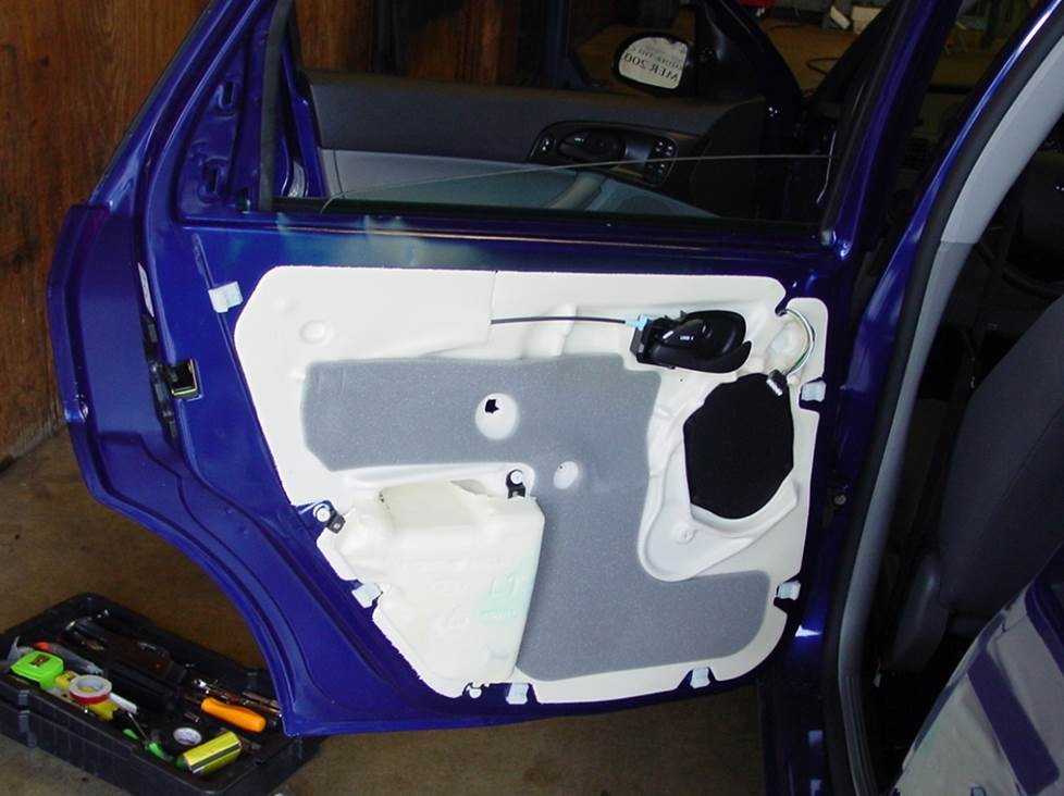 ford focus rear door speaker