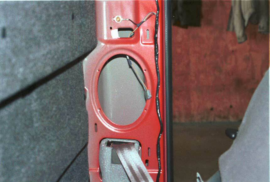 ford f-250 f-2350 rear speaker