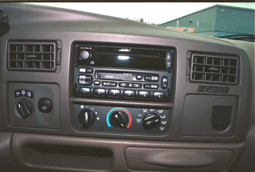 ford excursion radio