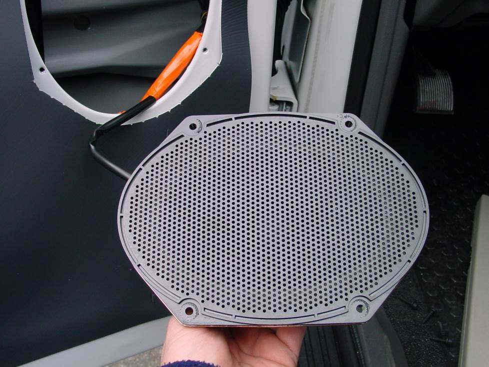 ford ranger front door speaker