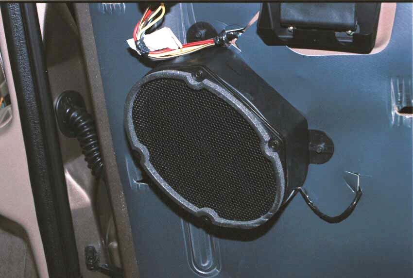 ford excursion rear door speaker