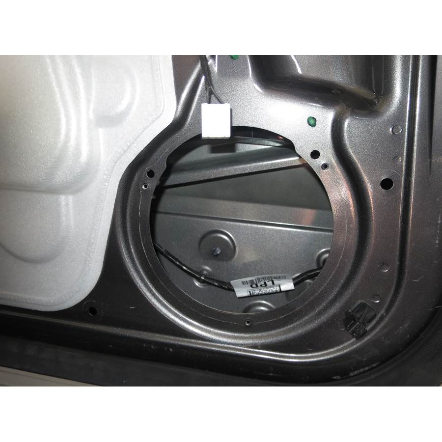 2014 Ford Transit Connect Rear door speaker removed