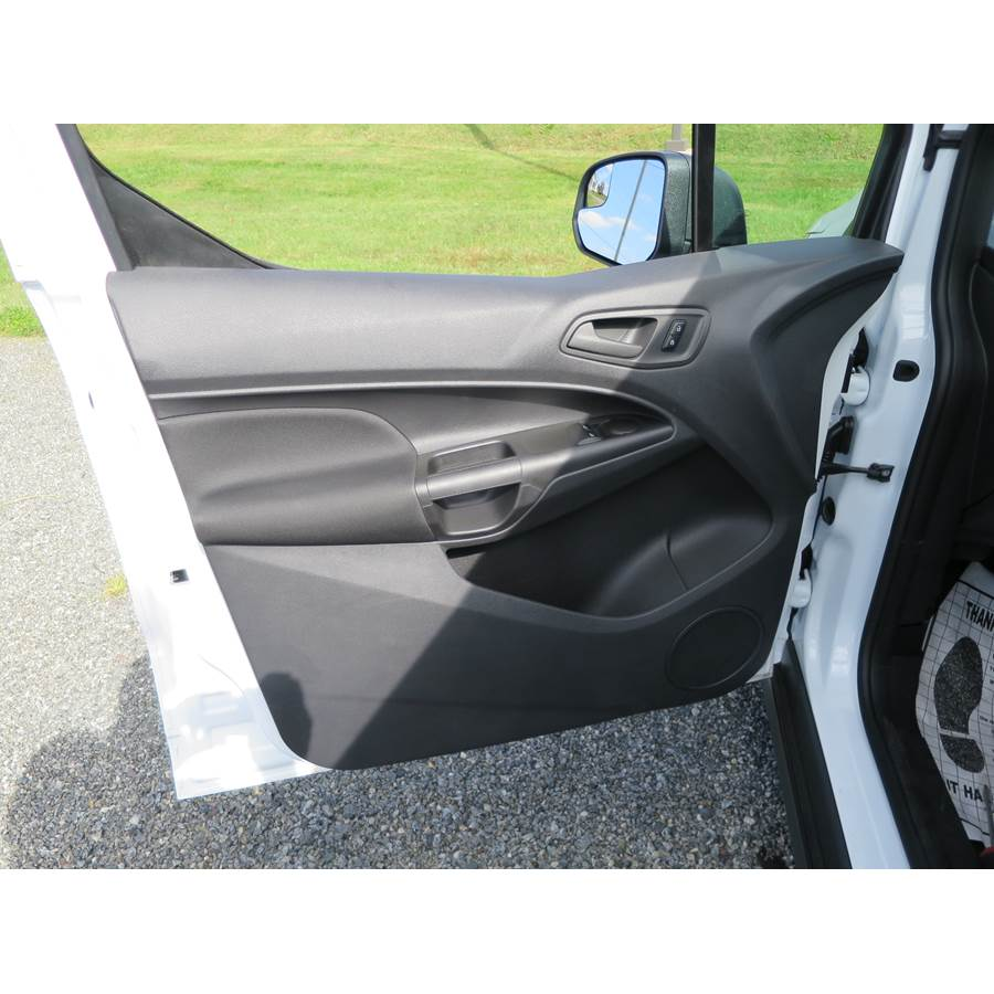 2014 Ford Transit Connect Front door speaker location