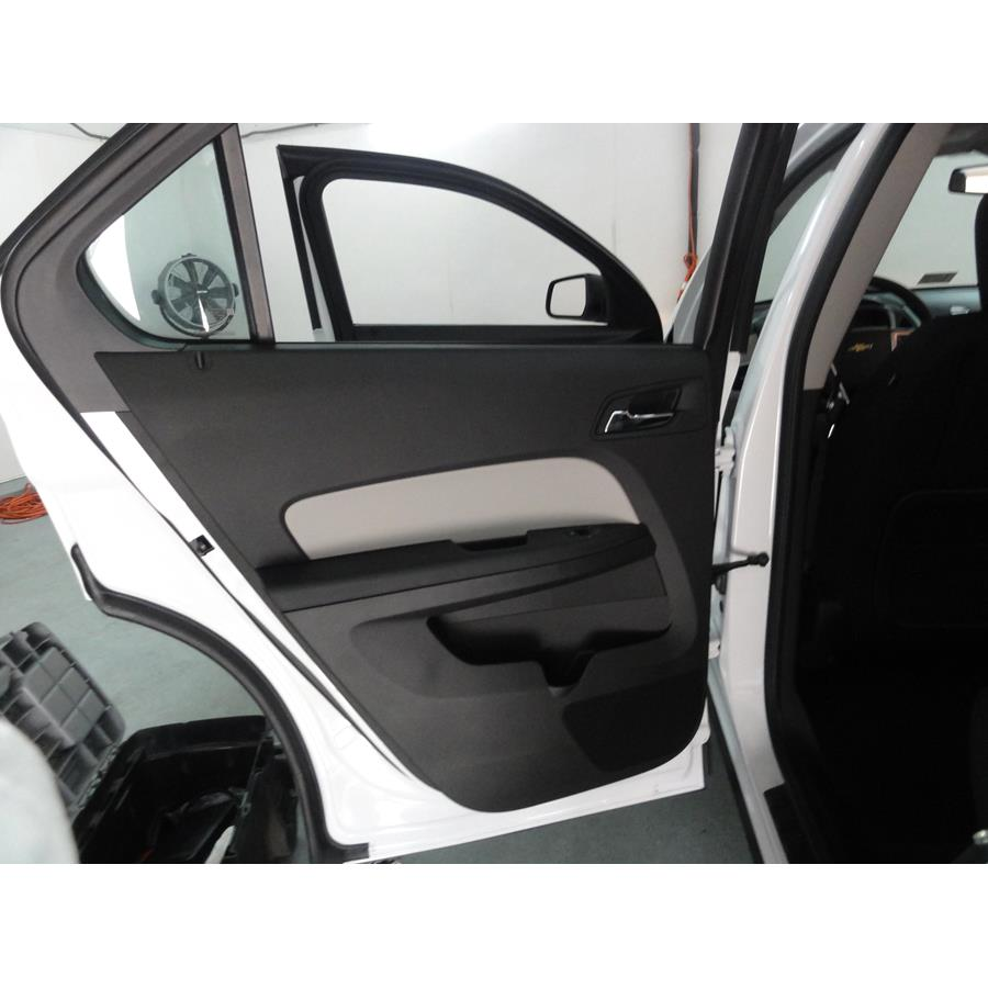 2011 Chevrolet Equinox Rear door speaker location