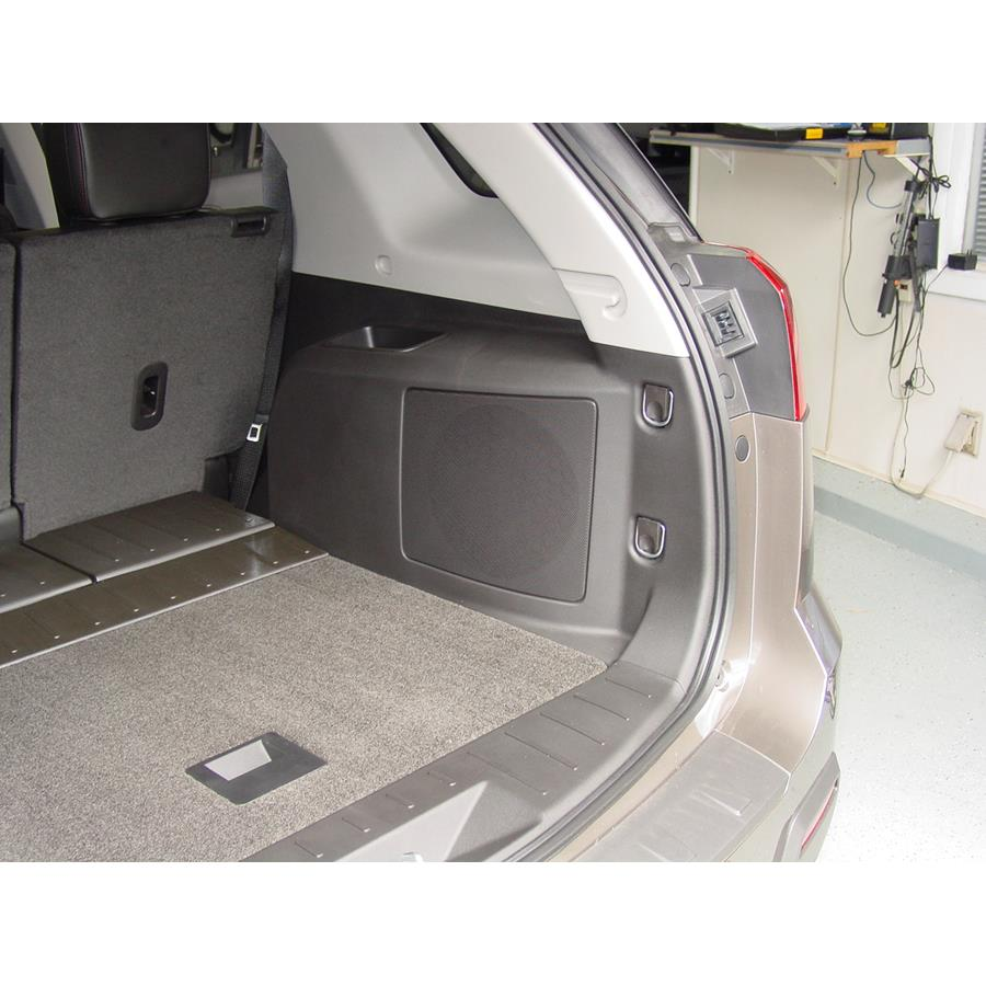 2011 Chevrolet Equinox Far-rear side speaker location