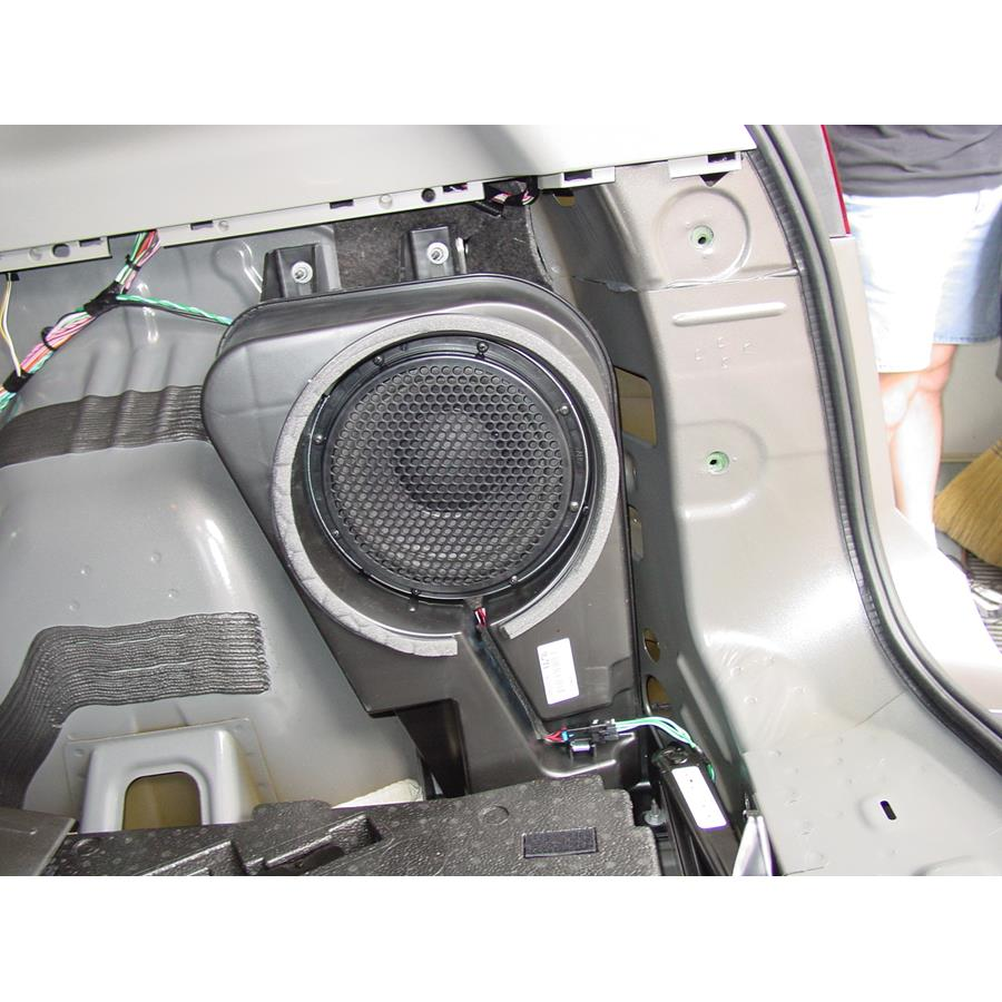 2011 Chevrolet Equinox Far-rear side speaker