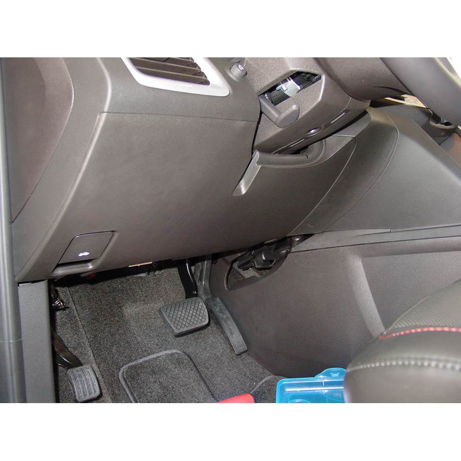 2011 Chevrolet Equinox Factory amplifier location