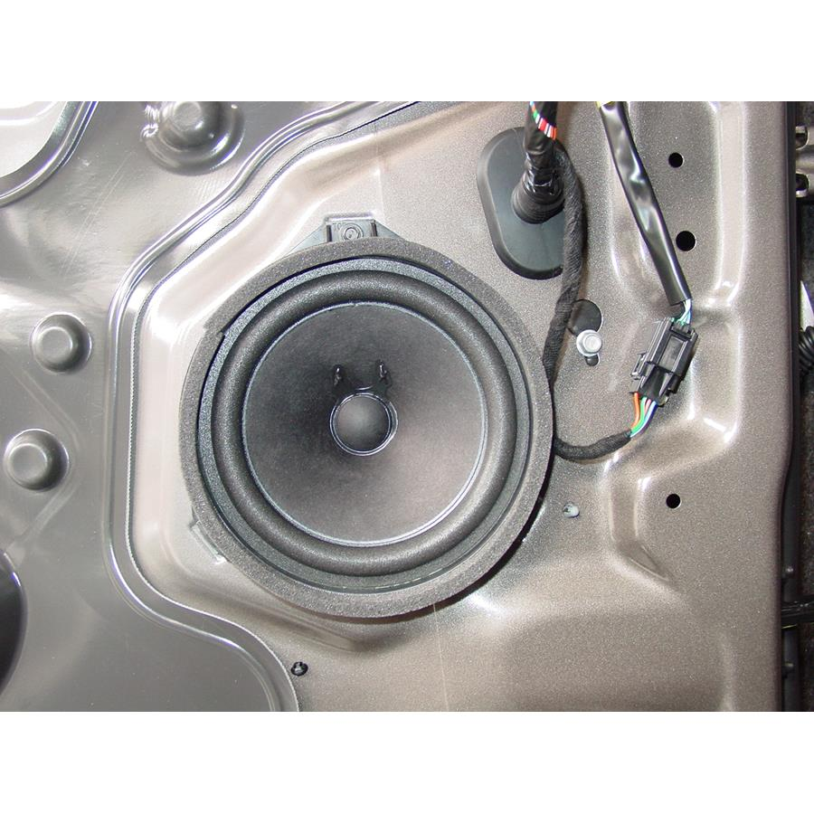 2011 Chevrolet Equinox Front door speaker
