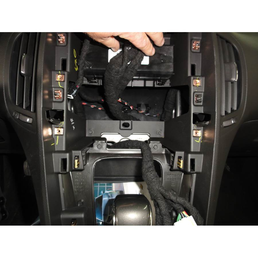 2014 Chevrolet Volt Factory radio removed