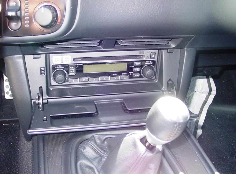 honda s2000 factory radio