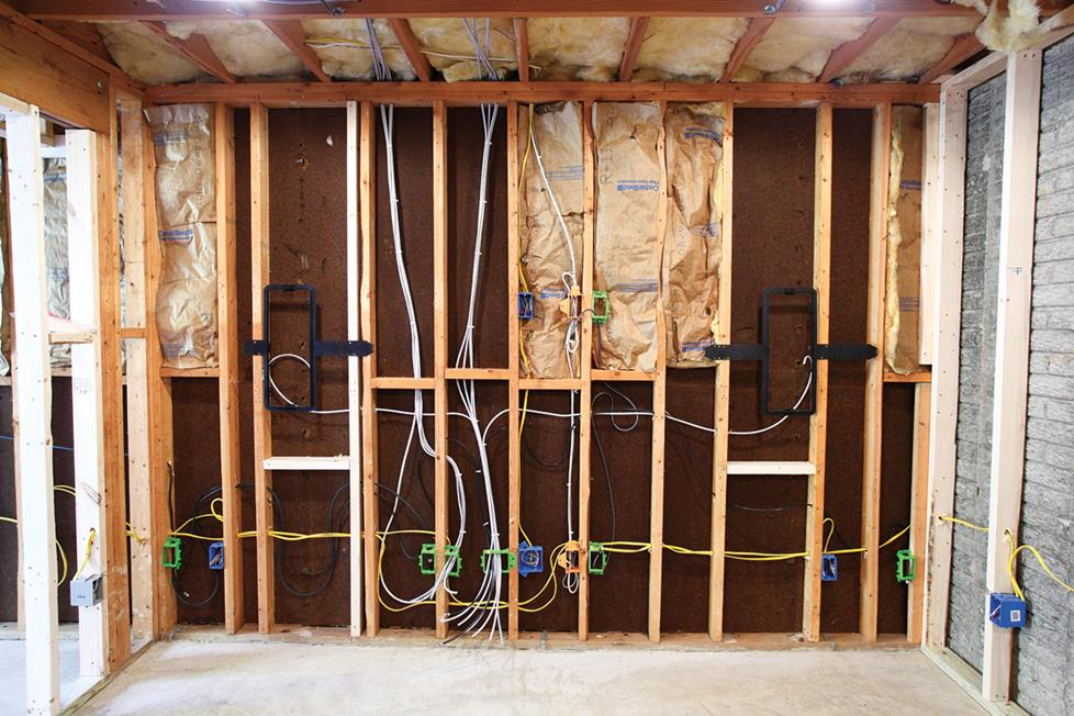 in wall wiring guide for home a v rh crutchfield com wiring height in walls running electrical wiring in walls