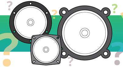 Understanding car speaker sizes