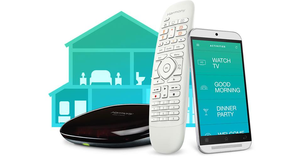 The Logitech® Harmony® Home Control