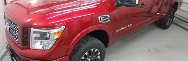 2017 Nissan Titan XD - find speakers, stereos, and dash kits that