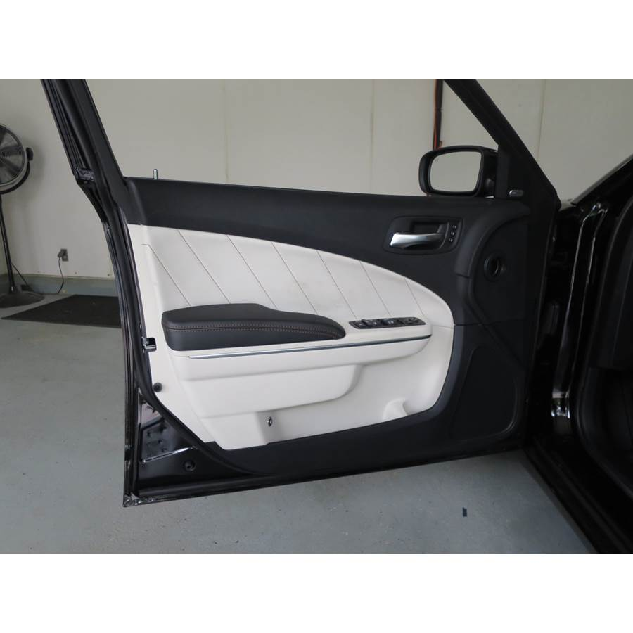 2018 Dodge Charger Front door speaker location