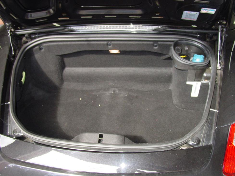porsche boxster trunk rear