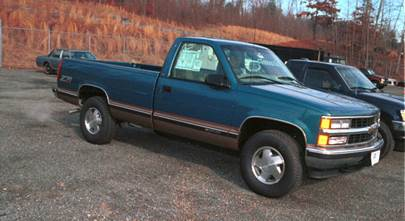 1995-1999 Chevrolet and GMC pickups (Standard, Crew, and Extended cabs)