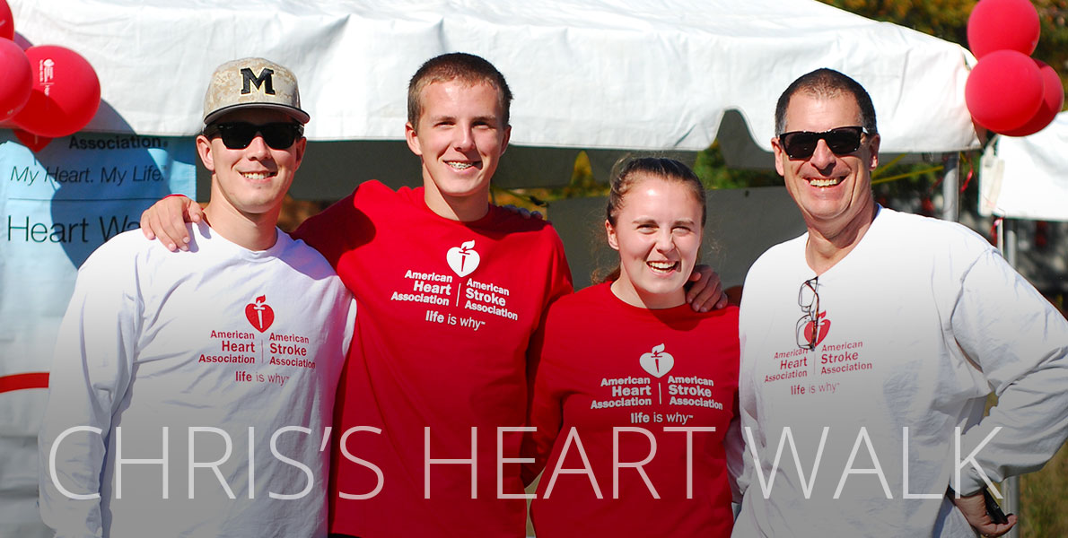 Chris's Heart Walk