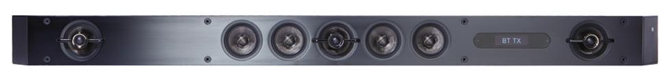 A multi-channel sound bar gives you immersive surround sound