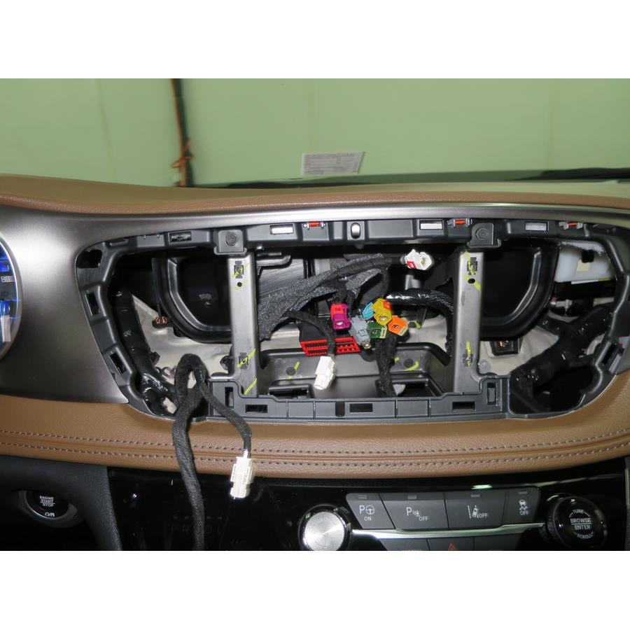2017 Chrysler Pacifica Factory radio removed