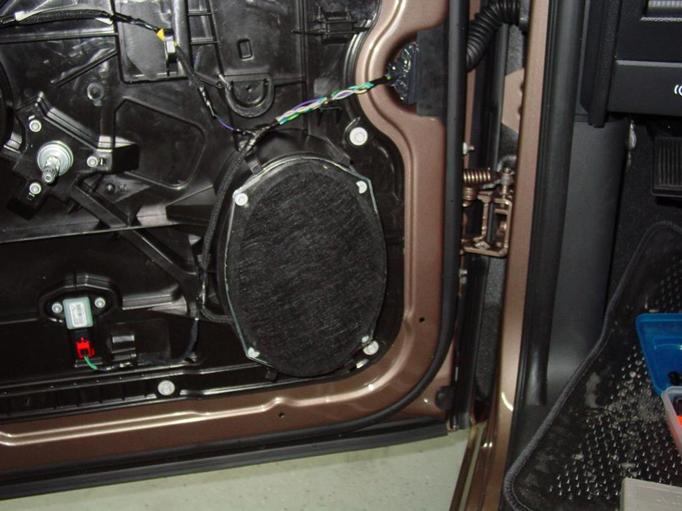 dodge ram front door speaker