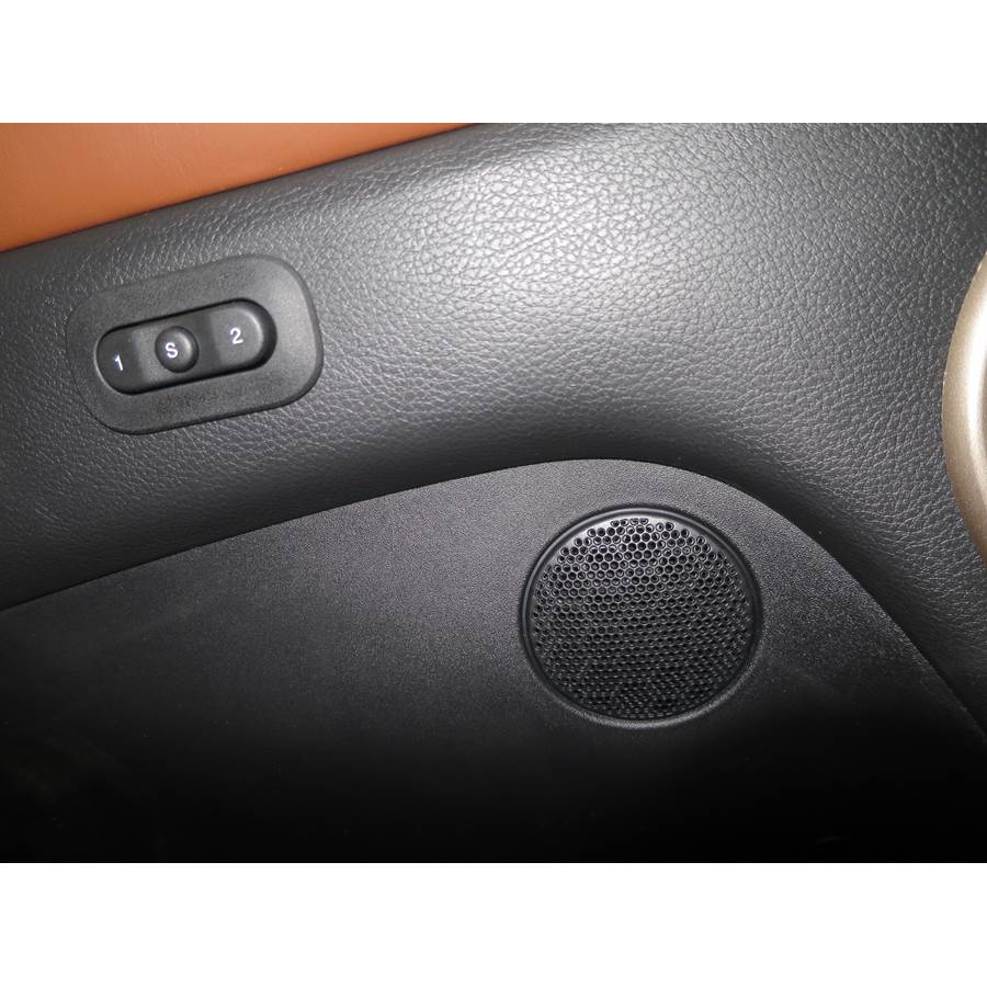 2016 Jeep Grand Cherokee Front door midrange location