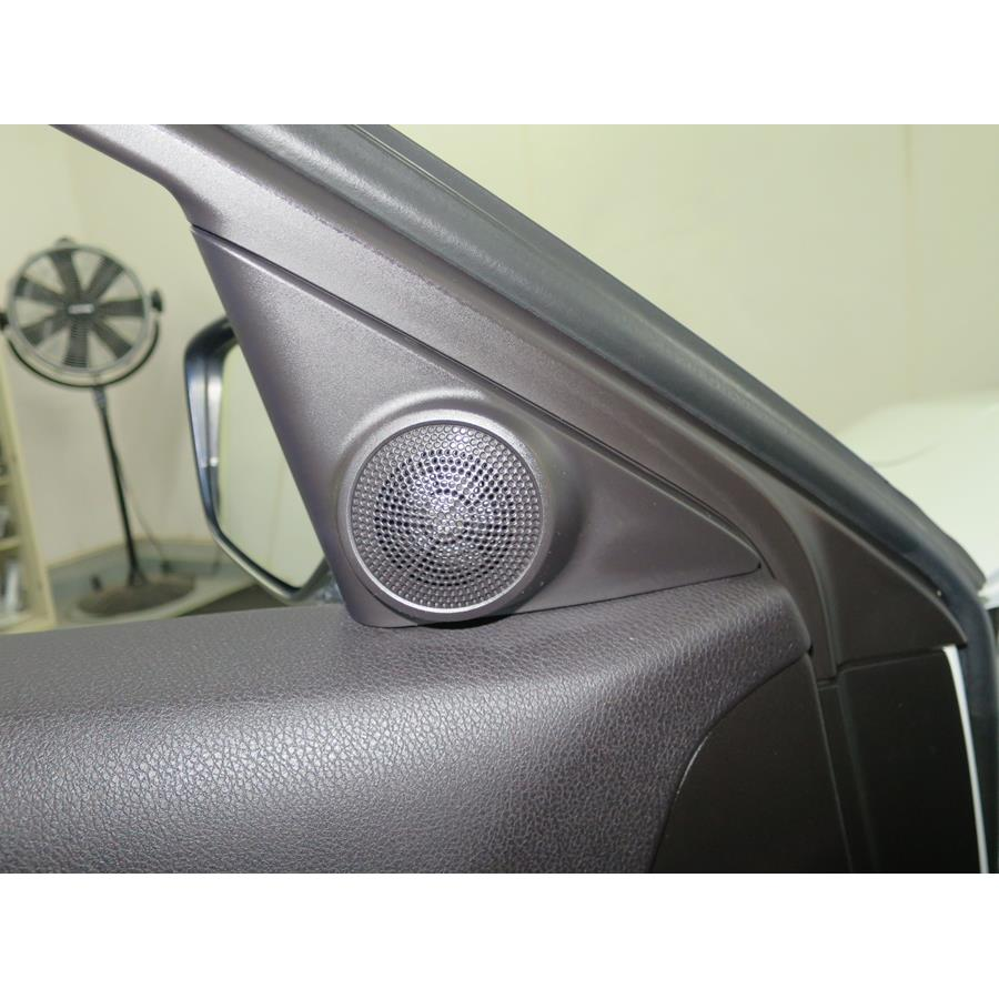 2018 Acura ILX Front door tweeter location