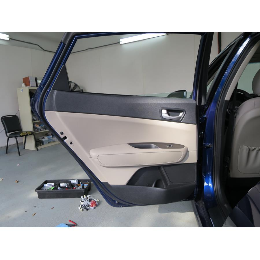2018 Kia Optima Rear door speaker location