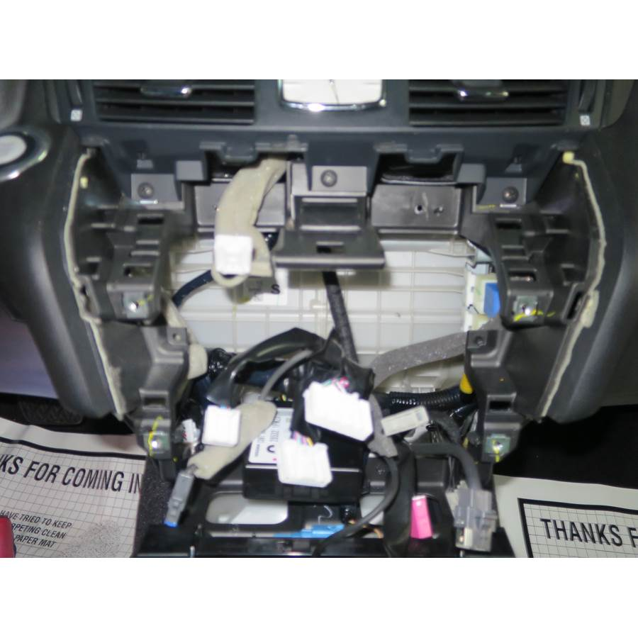 2013 Infiniti M35h Factory radio removed