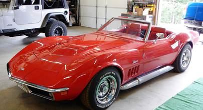 1969-1974 Chevrolet Corvette