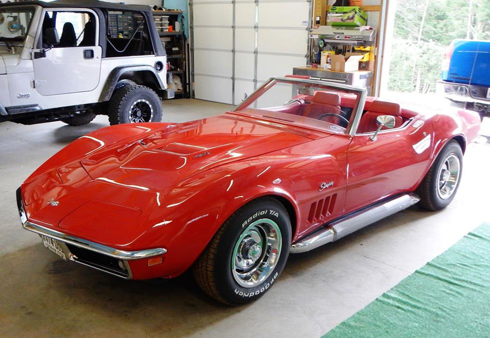 chevy corvette c3 convertible