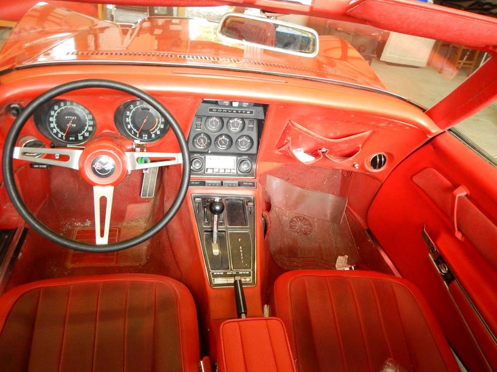 chevy corvette c3 interior convertible