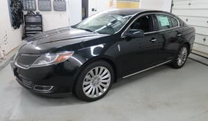 2013 Lincoln MKS Exterior