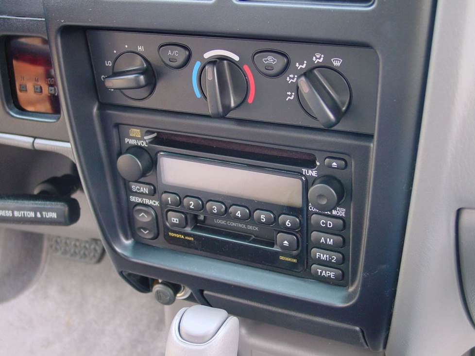 Upgrading the Stereo System in Your 1998-2004 Toyota TacomaCrutchfield