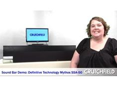 Video: Sound Bar Demo: Definitive Technology Mythos SSA-50