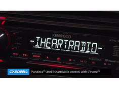 Demo of the Kenwood KDC-168U CD receiver